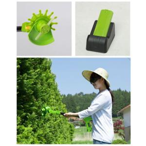草刈機 電動 充電式 草刈り機 芝刈り機 家庭用 軽量 コードレス 伸縮 スティック式 軽る刈った2 VS-GE04 ciz 04
