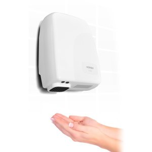 ハンドドライヤー トイレ 家庭用 エアータオル 小型 手洗い ジェットタオル センサー感知 省スペース 壁掛け式 VS-H006 (送料無料)|ciz|04