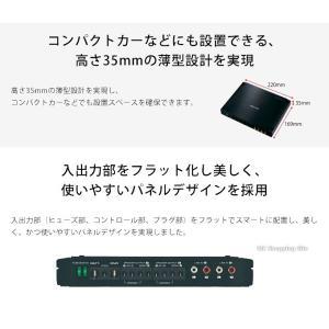 4ch パワーアンプ ケンウッド Dクラス 4チャンネル XH401-4 (送料無料&お取寄せ)|ciz|05