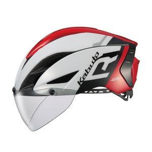自転車 OGK KABUTO ヘルメット オージーケーカブト AERO-R1 G-1 エアロ ホワイ...