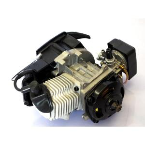 ATV ミニバイク ポケバイ 49cc 空冷 2スト エンジン ASSY 黒|ck-custom