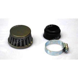 1829 ATV モンキー 35mm エアファンネル パワーフィルター 汎用|ck-custom
