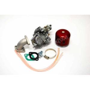 4012 モンキー ゴリラ ミクニ VM22 φ26 mm キャブレターセット 赤|ck-custom