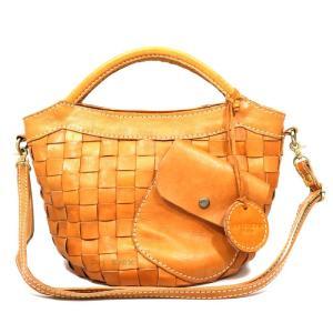 5780 レディース ズッケロフィラート  フェス レザー 斜め掛け ショルダー 手持ち メッシュ 2way ハンドバッグ 正規品 /zucchero filato bag(おまけ付)|ck-custom