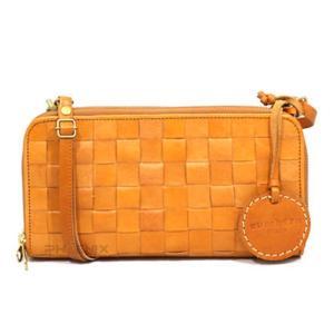 5782  レディース ズッケロフィラート フェス レザー 斜め掛け メッシュ サイフ お財布 ショルダーバッグ 正規品 /zucchero filato wallet bag(おまけ付)|ck-custom