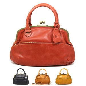 5788 ~ レディース フェス ズッケロフィラート レザー 牛革 本革 斜め掛け ショルダー 手持ち がま口 2way ハンドバッグ 正規品 4カラー /fes bag(おまけ付)|ck-custom