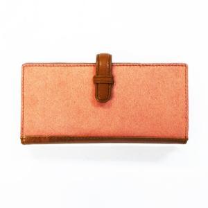 8004 レディース ズッケロフィラート 長財布 レザー ハラコ ピンク カウレザー 牛革 本革 ブランド ギフト 正規品 / zucchero filato wallet (おまけ付)|ck-custom
