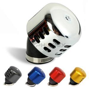 5355 ~ バイク 二輪 バギー ATV トライク等の汎用 吸気 カラー エアーフィルター パワーフィルター|ck-custom