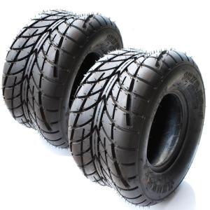 TIRE タイヤ 18x9.50-8 チューブレス ATV バギー ジャイロ トライク ゴルフカート など 2本 セット|ck-custom