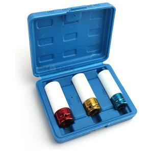 ホイールナット ソケット セット 17mm 19mm 21mm 保護カバー付き アルミホイールに インパクトレンチ対応 交換 締め 緩め レンチ 工具 DIY|ck-custom