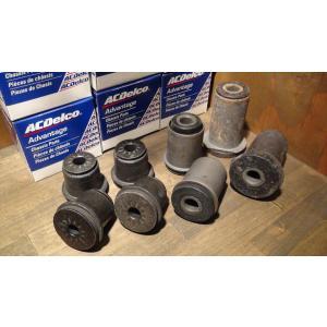 コントロールアームブッシュ アッパー&ロア1台分set 88-99y ACDelco 4WD 43mm K1500 サバーバン ブレイザー タホ エスカレード ユーコンデナリ K2500 K3500|ck-parts