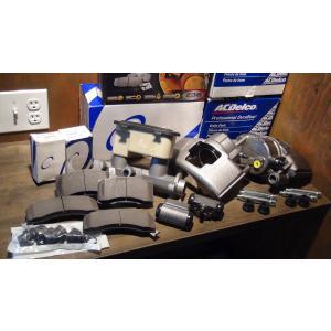 ブレーキアップグレードキット 88-99y 7200→8600GVW 高性能パッド マスターシリンダー キャリパー ホイールシリンダー サバーバン タホ4dr エスカレード|ck-parts