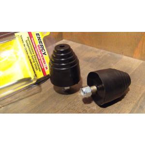 バンプストップ ENERGY 汎用 ウレタン 黒 2個set 高さ55mm×φ49mm バンパー バンプラバー  C10 K10 K5ブレイザー サバーバン タホ ユーコン C1500 K1500|ck-parts
