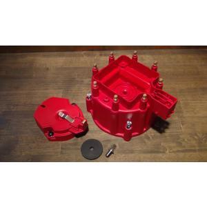 デスビキャップ&ローターセット 75-86y CAB MSD GM HEI クランプダウン ディストリビューターキャップ デスビローター C10 K10 K5ブレイザー サバーバン|ck-parts
