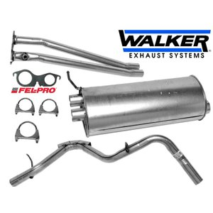 マフラーキット 触媒後 1台分 WALKER 純正タイプ 96-99yサバーバン エキゾーストキット 中間パイプ タイコ テールパイプ|ck-parts