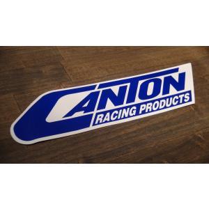 ステッカー CANTON 大 26.6x6.6cm アメリカン レーシング シール デカール ブランド メーカー ck-parts