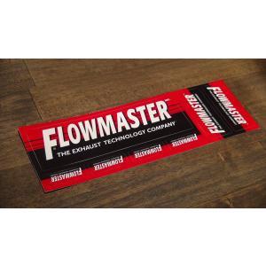 ステッカー FLOWMASTER シート 19.7x6.3cm アメリカン レーシング シール デカール ブランド メーカー ck-parts