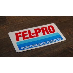 ステッカー FEL-PRO 中 12.2x6.3cm アメリカン レーシング シール デカール ブランド メーカー ck-parts