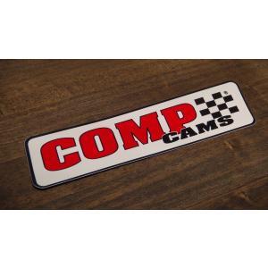 ステッカー COMPCAMS 中 17.6x4.3cm アメリカン レーシング シール デカール ブランド メーカー ck-parts
