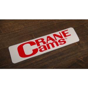 ステッカー CRANECAMS 中 16.2x4.1cm アメリカン レーシング シール デカール ブランド メーカー ck-parts