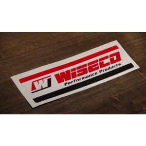 ステッカー WISECO 中 16.4x4.5cm アメリカン レーシング シール デカール ブランド メーカー ck-parts