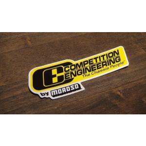 ステッカー COMPETITION ENGINEERING 小 11.4x4.0cm アメリカン レーシング シール デカール ブランド メーカー ck-parts