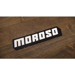 ステッカー MOROSO 小 9.9x2.4cm アメリカン レーシング シール デカール ブランド メーカー ck-parts