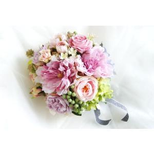 ブーケ ブートニア  ピンク|clair-accesory