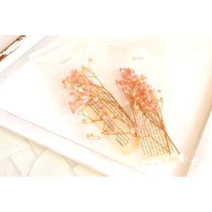 花材 かすみ草 ピンク|clair-accesory