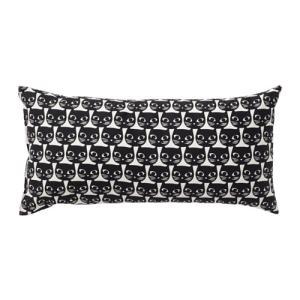 IKEA イケア クッション ホワイト ブラック 10320954 MATTRAM|clair-kobe