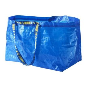 IKEA イケア キャリーバッグ L ブルー 20188483 FRAKTA|clair-kobe