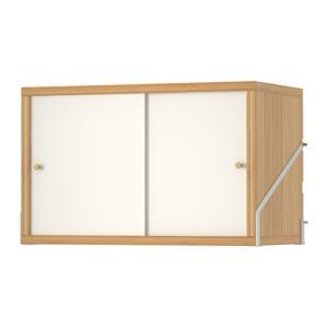 幅: 61 cm 奥行き: 35 cm この商品は組み立てが必要です - 引き戸式はオープン収納と目...