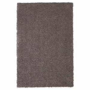 IKEA イケア ラグ カーペット パイル長 グレーブラウン 00270153 HOJERUP|clair-kobe