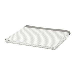 IKEA イケア テーブルクロス ホワイト グレー 30278355 365+ clair-kobe