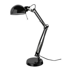 IKEA イケア ワークランプ ブラック 40146784 FORSA|clair-kobe