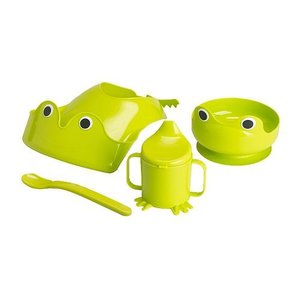 IKEA イケア 食器4点セット グリーン 70135595 MATA|clair-kobe