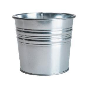 IKEA イケア 鉢カバー 室内 屋外用 亜鉛メッキ a10169442 SOCKER|clair-kobe