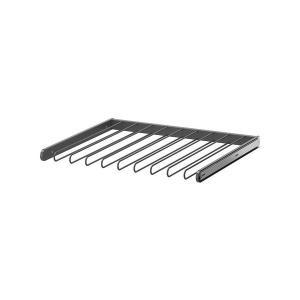 IKEA イケア 引き出し式ズボンハンガー ダークグレー a10257373 KOMPLEMENT clair-kobe