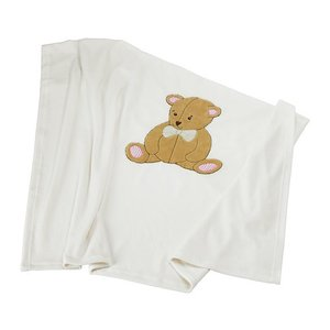IKEA イケア 毛布 ホワイト ベージュ a10264316 BRUMBJORN|clair-kobe