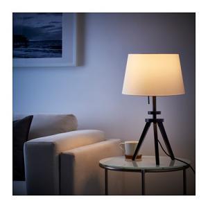 IKEA イケア テーブルランプベース ブラウン 00302960 LAUTERS|clair-kobe