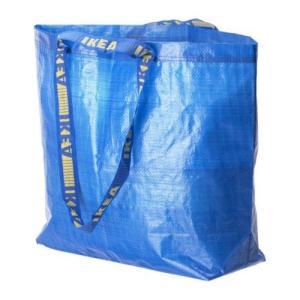 IKEA イケア キャリーバッグ M ブルー a40301708 FRAKTA エコバッグ|clair-kobe