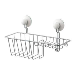 IKEA イケア シャワー ソープバスケット フック付き 亜鉛メッキ a40354122 IMMELN|clair-kobe