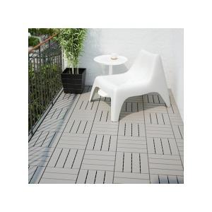 IKEA イケア フロアデッキ 屋外用 9 ピース グレー a50238113 RUNNEN|clair-kobe