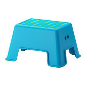 IKEA イケア ステップスツール 踏み台 ブルー a50291332 BOLMEN|clair-kobe