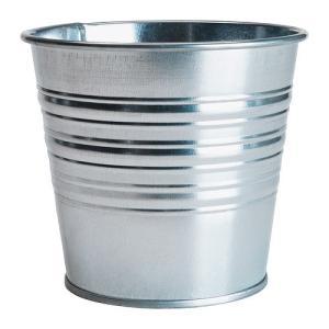 IKEA イケア 鉢カバー 室内 屋外用 亜鉛メッキ a90169443 SOCKER clair-kobe