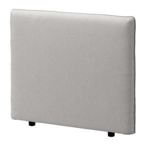 IKEA イケア カバー 背もたれ用 オッルスタ ライトグレー c60329725 VALLENTUNA clair-kobe