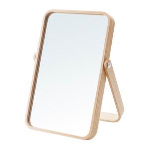 IKEA イケア テーブルミラー 鏡 アッシュ c80306921 IKORNNES clair-kobe