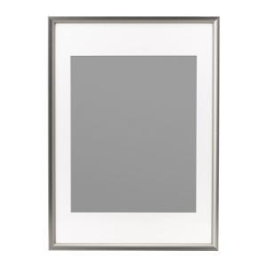 IKEA イケア フレーム シルバーカラー 50x70 d00297435 SILVERHOJDEN|clair-kobe