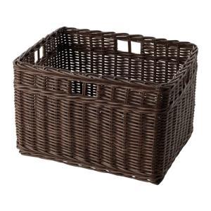 IKEA イケア バスケット ダークブラウン d00322067 GABBIG|clair-kobe