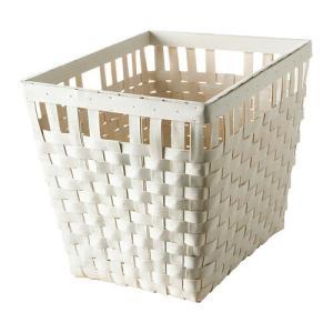 IKEA イケア バスケット ホワイト d20243314 KNARRA|clair-kobe